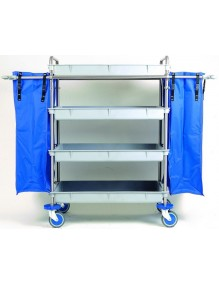 Mopping trolley