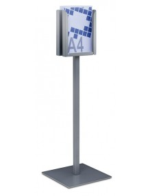 Free-standing display stand.  (125002)