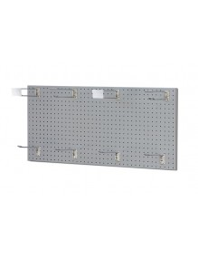 Perforated wall panel made of perforated