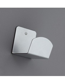 Wall-mounted rack (silver)