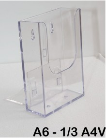 Tabletop A6 display stand  ( 1/3 A4V )