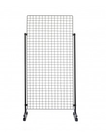 Display stand  with Panels made of wire net
