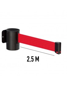 Wall Extendable / Retractable belt posts 2,5 meters.