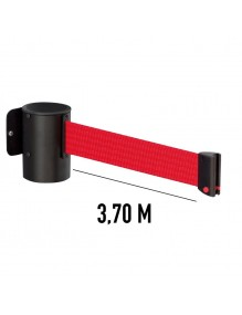 Wall Extendable / Retractable belt posts 3,7 meters