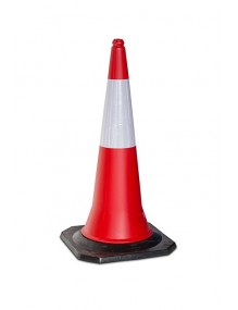 Reflective Cones with rubber Base ( 9 m. )