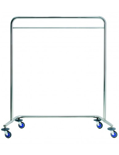 Moveable Metal Coat Rack In, Stainless Coat Rack