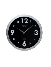 Wall clock - black