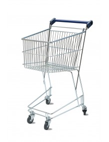Shopping cart with a capacity of 75 liters