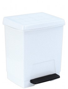 Garbage container with pedal 23 Liters