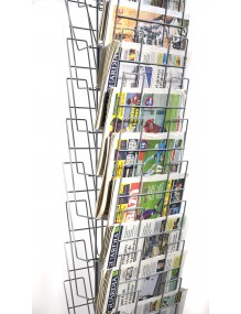 Display for newspapers with 20 departments