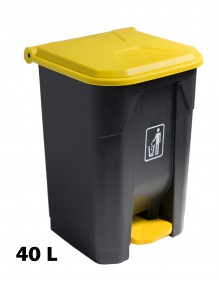 Container mit Pedal 40 Liters