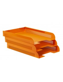 Stackable document tray (7...