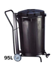 Container with lid. Robust and lasting (95 liters)