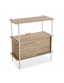 Shelf with 2 shelves and a drawer
